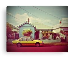A Northcote Street Canvas Print