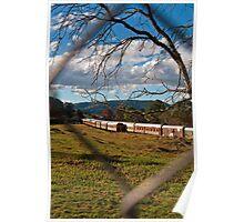 Through the Fence - Dorrigo Train Museum Poster