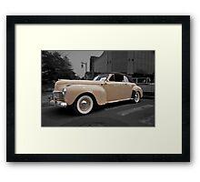1941 Chrysler New Yorker Framed Print