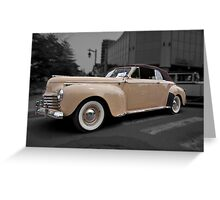 1941 Chrysler New Yorker Greeting Card