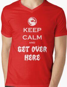 Mortal Kalmbat Mens V-Neck T-Shirt