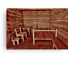 Fort Clatsop Canvas Print