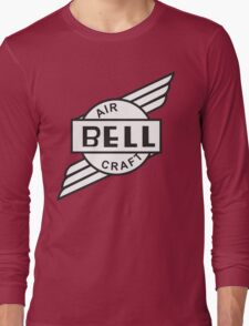 Bell Aircraft Company Retro Logo Long Sleeve T-Shirt