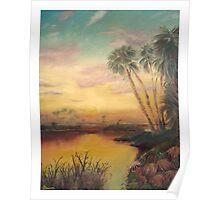 Saint Johns Sunset  Poster