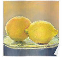Orange & Lemon Poster