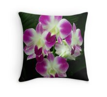 Den Banyard Orchid Throw Pillow