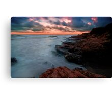The Pacific… on the Rocks Canvas Print