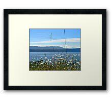 Parker Island, BC Framed Print
