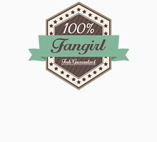 100% Fangirl, Feels Guaranteed (choc) Unisex T-Shirt