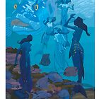 5 Mermaids by David  Kennett