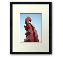 Sky Hook Framed Print
