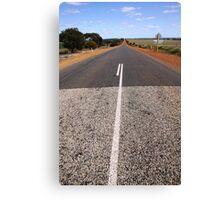 The Long Road - Western Australia Canvas Print