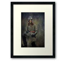 Silver Knight Framed Print