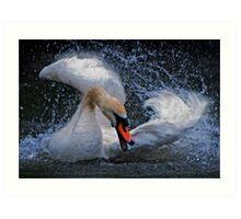 Raging Swan Art Print