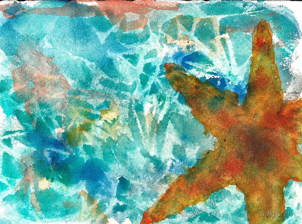 I'd Like to be Under the Sea by Sally Griffin