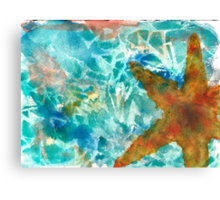 I'd Like to be Under the Sea Canvas Print