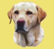 Yellow Lab Faithful Friend by crazytees