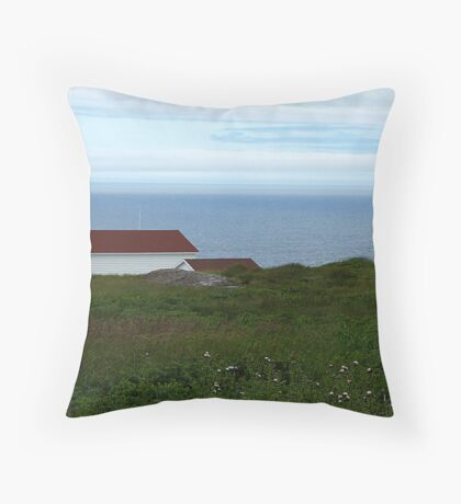 St. John's, NFLD Throw Pillow