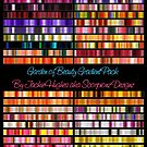 Garden of Beauty Gradient Pack Cover by Jaclyn Hughes
