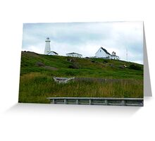 On the hill Greeting Card