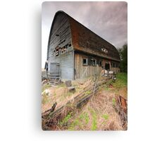 Empty old barn II Canvas Print