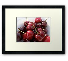 Cherries Jubilee Framed Print