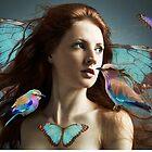 Bird of a Feather by MaureenTillman