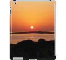 Paros Island, Greece - Tranquil Sunset iPad Case/Skin