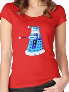 DALEK FROM DOCTOR WHO Women's Fitted Scoop T-Shirt