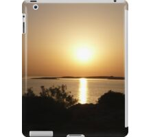 Paros Island, Greece - At Day's End Sunset iPad Case/Skin