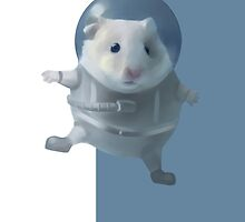 Hamster Astronaut  by Elena Naylor