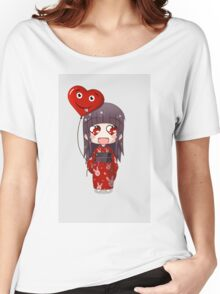Valentine Chibi Women's Relaxed Fit T-Shirt