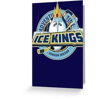 Ice Kings -Hockey Team Greeting Card