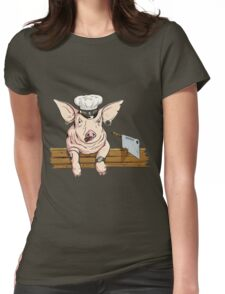The Butcher Womens Fitted T-Shirt