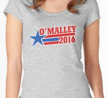 Martin O'Malley 2016 Women's Fitted Scoop T-Shirt
