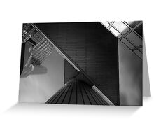 urban geometry Greeting Card