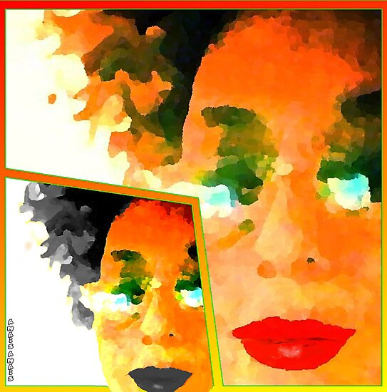 POSTER POP.. KISS COLLAGE by anaisanais