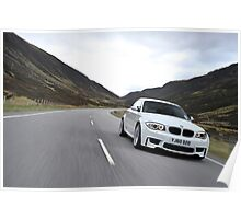 The new BMW 1M Coupe .... Poster