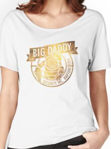 BigDaddy Security  -Gold with Texture Women's Relaxed Fit T-Shirt