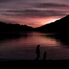 Playtime at Dusk by Sheaney