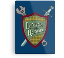 League Of Robots! Metal Print