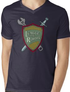 League Of Robots! Mens V-Neck T-Shirt