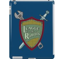 League Of Robots! iPad Case/Skin