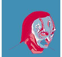 Elim Garak in a limited palette Photographic Print