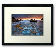 Cornwall: Incoming Storm Framed Print