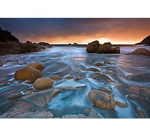 Cornwall: Incoming Storm Photographic Print