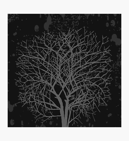 Vintage tree Photographic Print