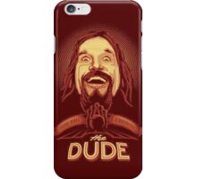 The Dude The big Lebowski iPhone Case/Skin