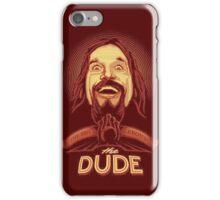 The Dude The big Lebowski iPhone Case/Skin