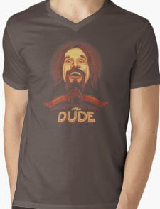 The Dude The big Lebowski Mens V-Neck T-Shirt